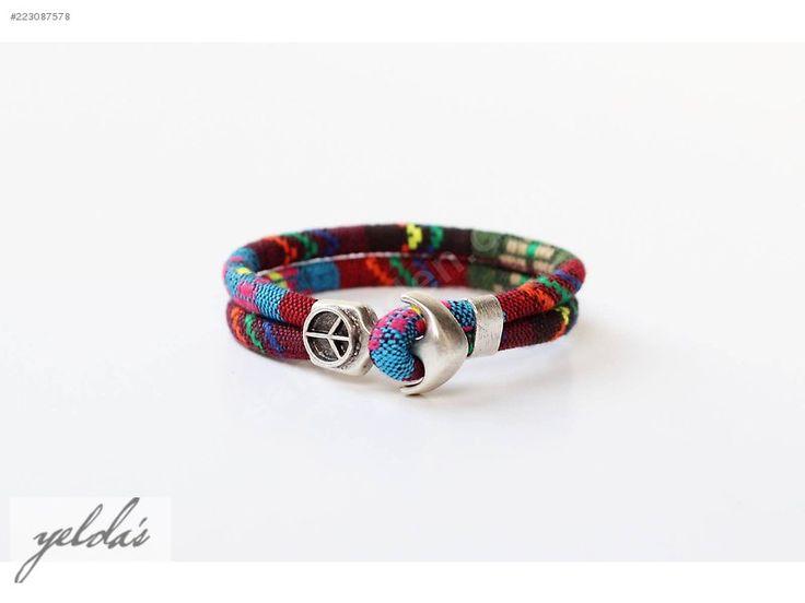 Yelda's Takı - Özel Tasarım Çapa Bileklik - Bijuteri Bileklik & Bilezik modelleri ve Unisex takı mücevher çeşitleri sahibinden.com'da - 223087578