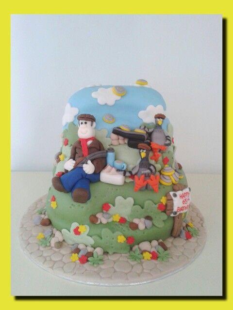 Clay Pigeon Shooting Birthday Cakes Pinterest Pigeon