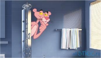 Наклейки для ванной комнаты на стену купить в Allstick.ru