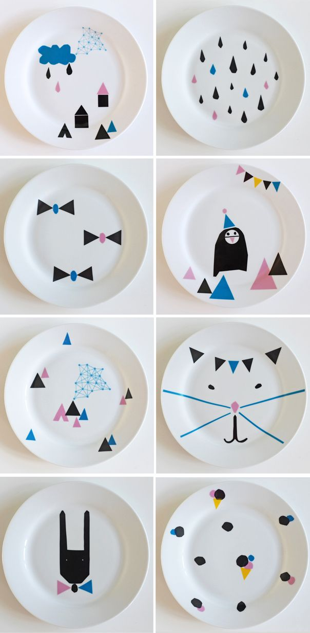 New plates by Nina in Vorm