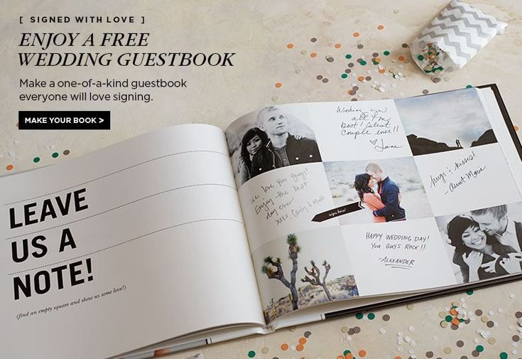 FREE Wedding Guest Book from Shutterfly FREE Weddi…