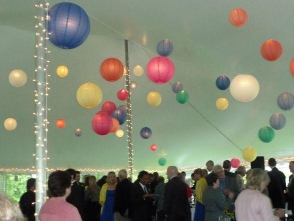 How many paper lanterns?? - Weddingbee