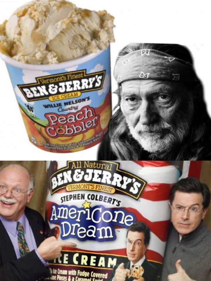 The Deliciously Scandalous Flavors Of Ben Jerry S With Images