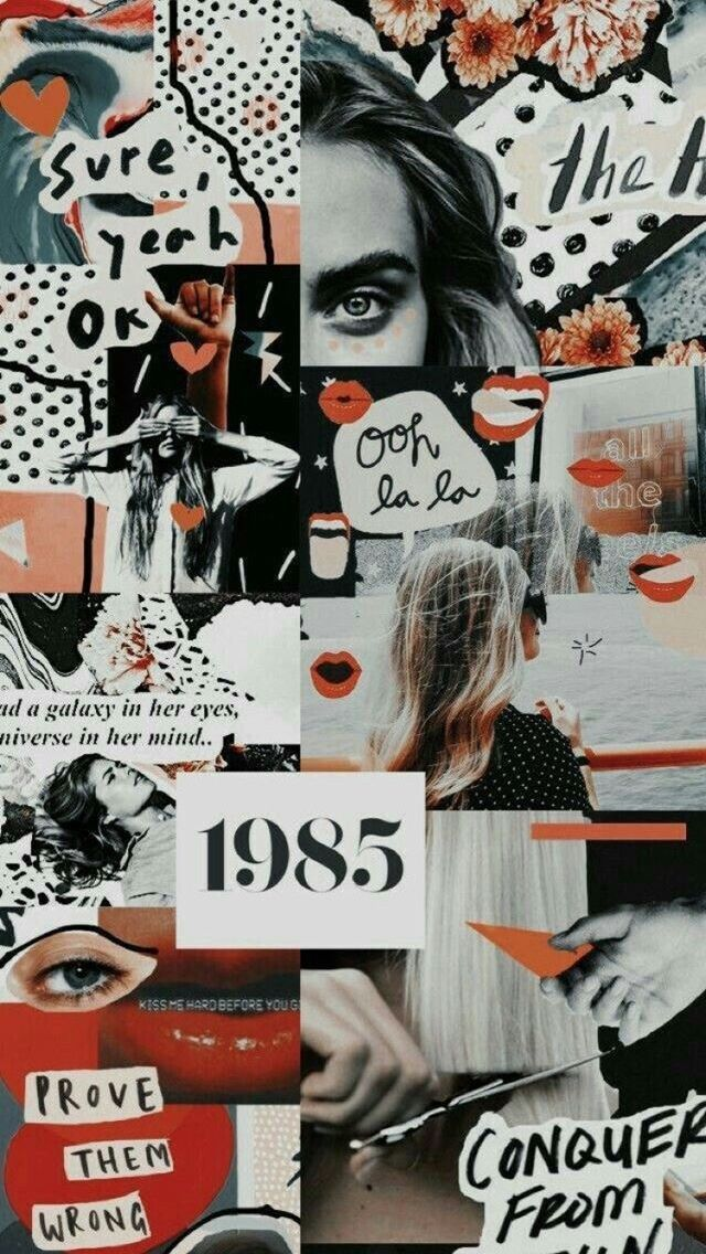 Wallpaper Scandinave In 2019 Collage Background Aesthetic