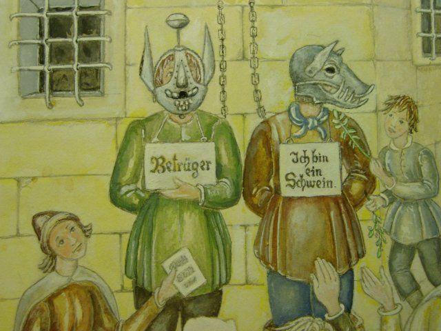 Les masques de la honte du moyen age | BlogRipper
