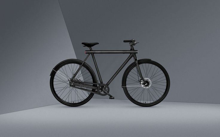 The smart bike with a straight frame - VanMoof