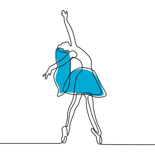 تصميم بسيط من ناحية رسم خط واحد باليه باليه راقصة ارقص Png والمتجهات للتحميل مجانا Minimalist Drawing How To Draw Hands Ballet Dancers