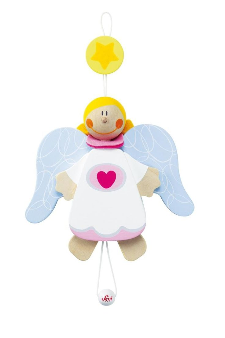 Sevi 82658 Hampelmann Schutzengel Mädchen -14 cm: Amazon.de: Spielzeug
