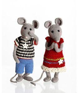 Løs opskrift: Trine og Bertel mus