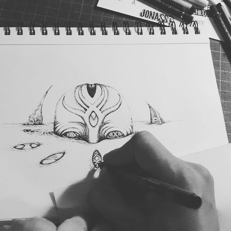 Observatorio // #jonassco #illustration #Ink #draw #b&w
