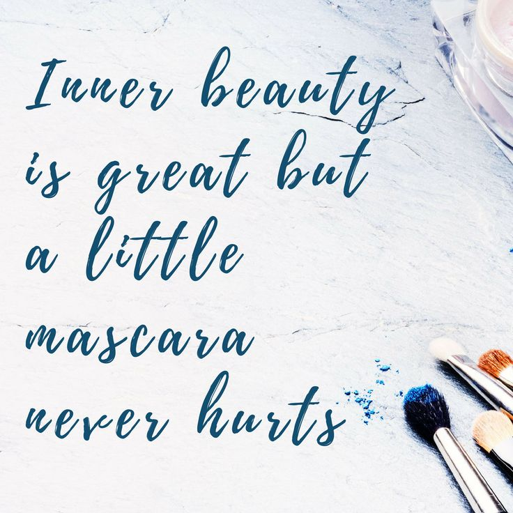 """Inner beauty is great but a little mascara never hurts"" 💄💄💄  #furniture #beauty #salon #hair #spa #nail #nails #relax #pamper #refresh #dublin"