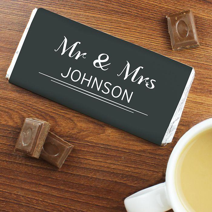 27 best personalised wedding guest favours images on pinterest httpsjusttherightgiftpersonalised classic chocolate negle Gallery