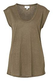 Light Linen Tee - from Witchery