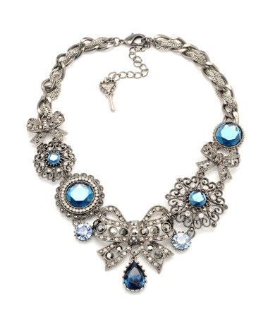 Betsey Johnson: Necklaces 150, Johnson Necklaces, Charms Necklaces, Bows Charms, Jewelry, Big Bows, Betsey Johnson, Charm Necklaces, Bows Necklaces