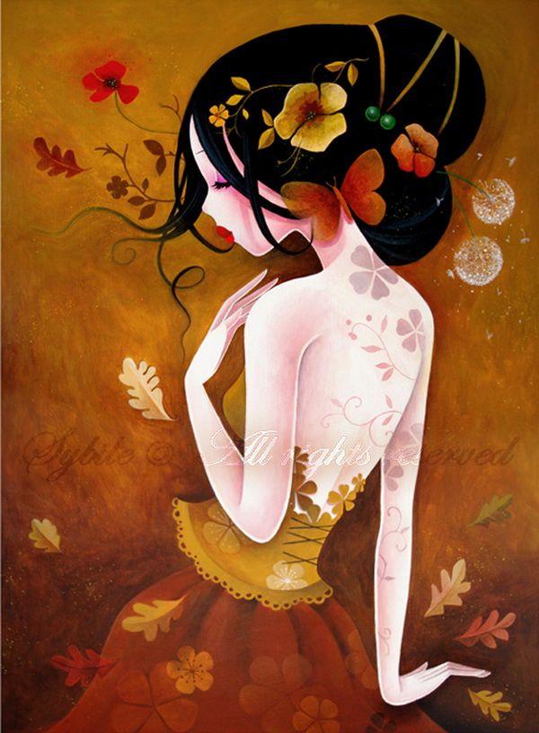 Le papillon de cuivre - Ilustraciones de Lady Sybile <3 <3