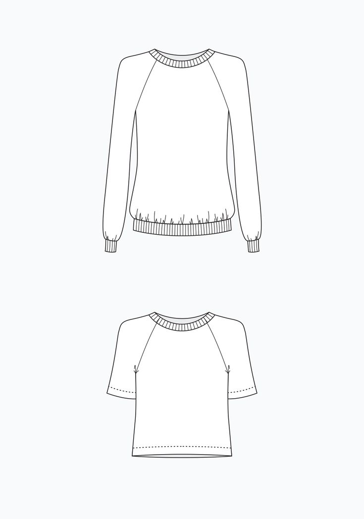 Linden Sweatshirt PDF – Grainline Studio