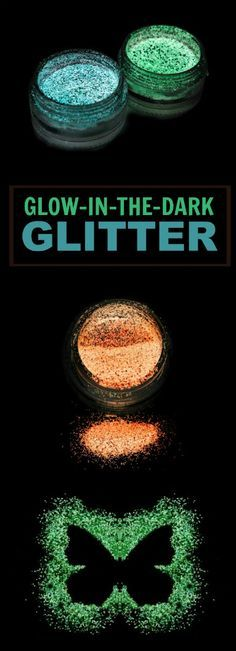 glow in the dark glitter recipe