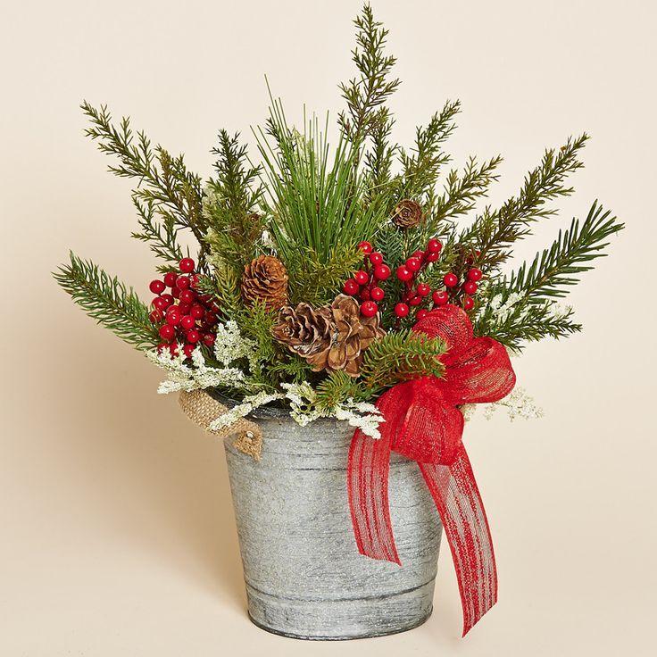 127 best Silk Flower Arrangements images on Pinterest ...