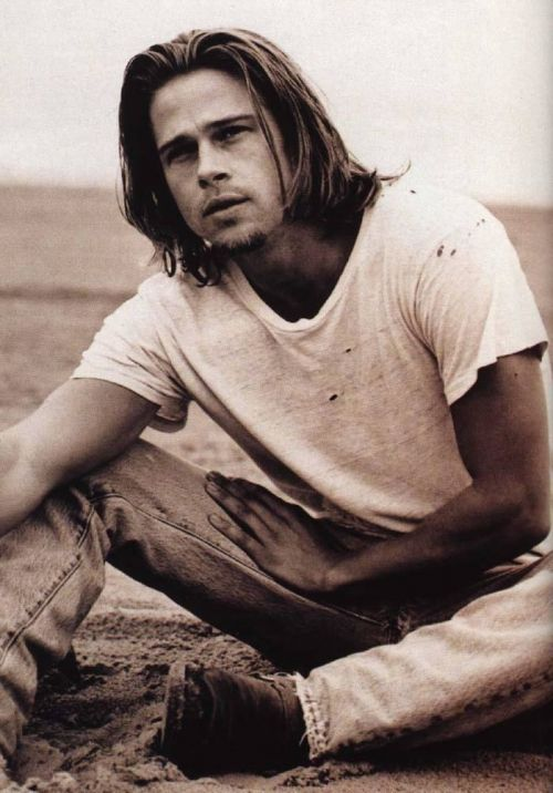 Brad Pitt does it for me