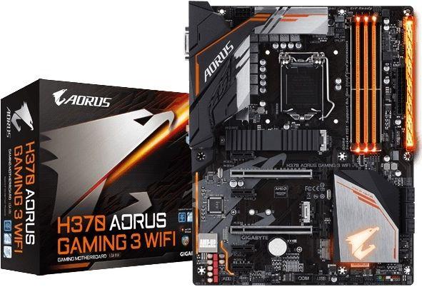 جيجابايت H370 Aorus Gaming 3 Wifi المقبس Lga 1151 اللوحة الأم