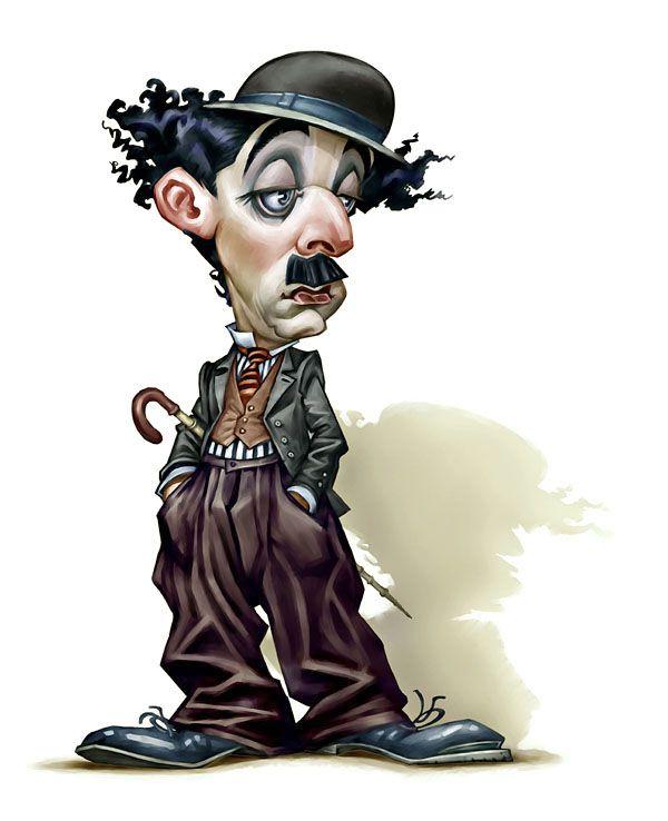 Charles CHAPLIN Caricature