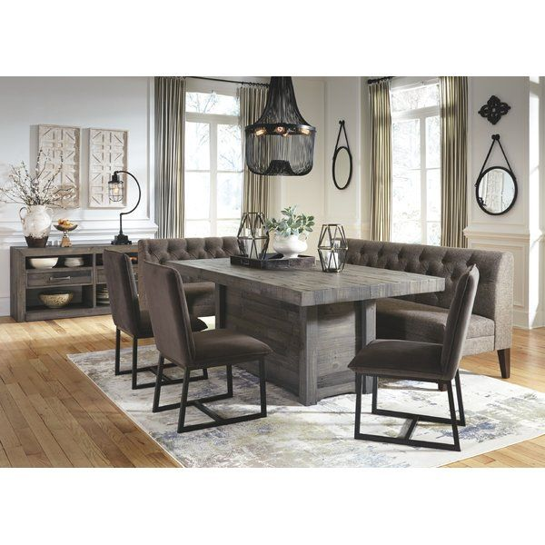 Ashley Furniture Tripton Medium Brown Dining Bench With Corner: Urbana Upholstered Bench In 2019