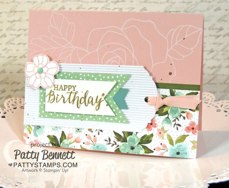 Birthday-bouquet-rose-garden-happy-card-stampin-up-pattystamps-corrugated