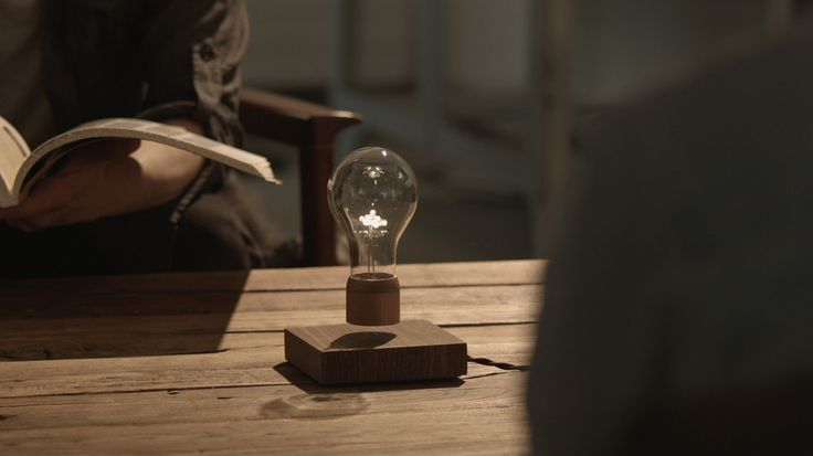Levitating lightbulb from Sweden http://www.thisisflyte.com