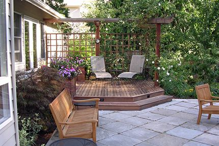 Privacy For Master Bedroom Patio A Hot Tub Right Outside
