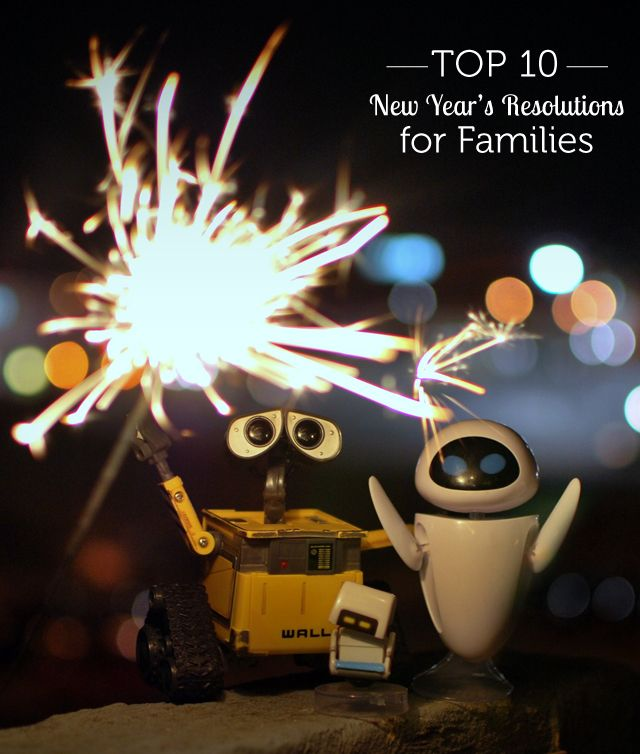 Really well thought out list of resolutions families can make together to start the year off right - we're focusing on #3 this year!