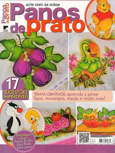 Pintura pano de prato - maria serafina aguiar - Álbuns Web Picasa