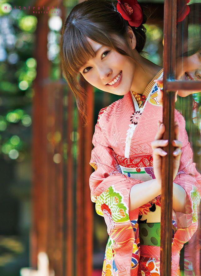 Shiraishi Mai   Nogizaka46 Shiraishi Mai Kimono   Kyoto Sweet Collection   Part 3