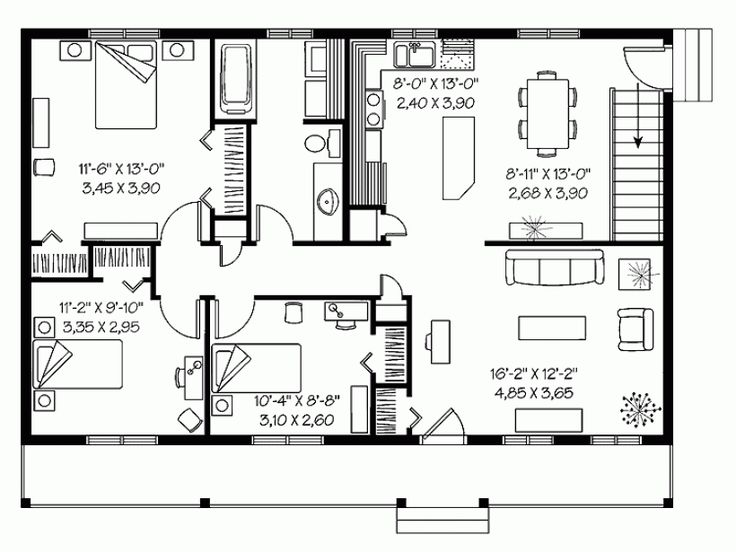 Most efficient house plans escortsea for Local house plans