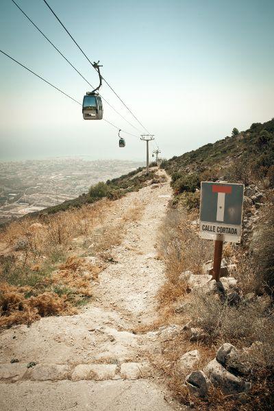 Téléphérique de Benalmadena en Andalousie, qui vous donnera surement de belles sensations et surtout une belle vue ! #Andalousia #Spain