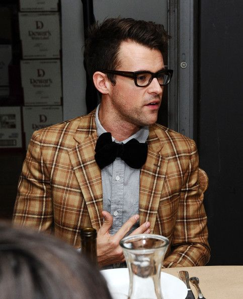 "Dewars Hosts ""Band of Outsiders"" Dinner Party - Love the hipster style"