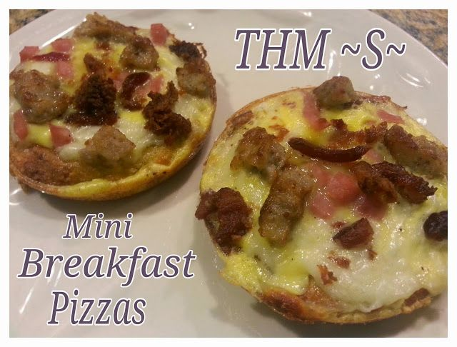 Little is Much...: THM ~S~ Breakfast Pizza!!!!!