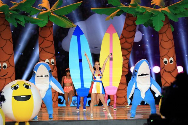 katy perry Superbowl