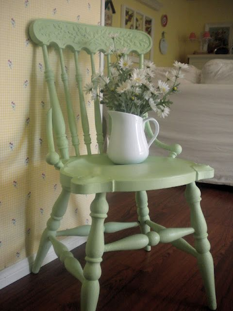 Mint Colored Chair