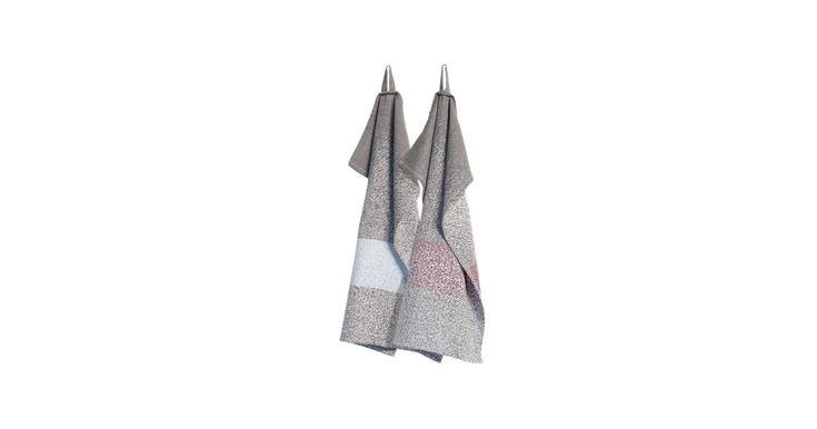 Storm tea towel. Det ligger i navnet. De lækre viskestykker er inspireret af snestormens råhed. Winter is is coming…