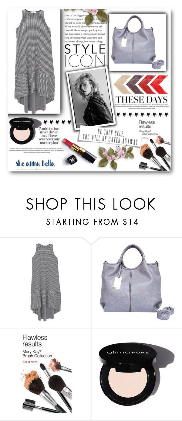 """""""She Anna Bell 12"""" by semic-merisa ❤ liked on Polyvore featuring MANGO, Chanel and sheannabella"""