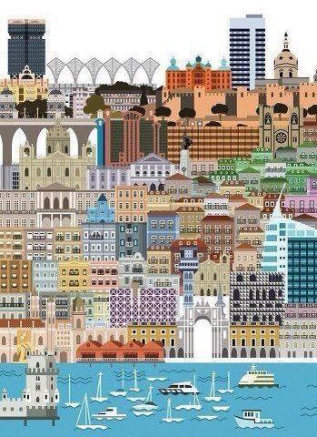 ✈ Lisbon Print ✈