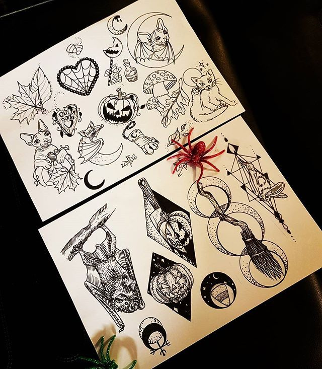 40 Must See Tattoos For Halloween