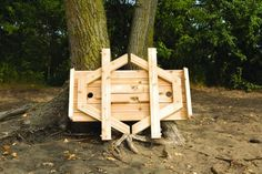 Bottom of picnic table