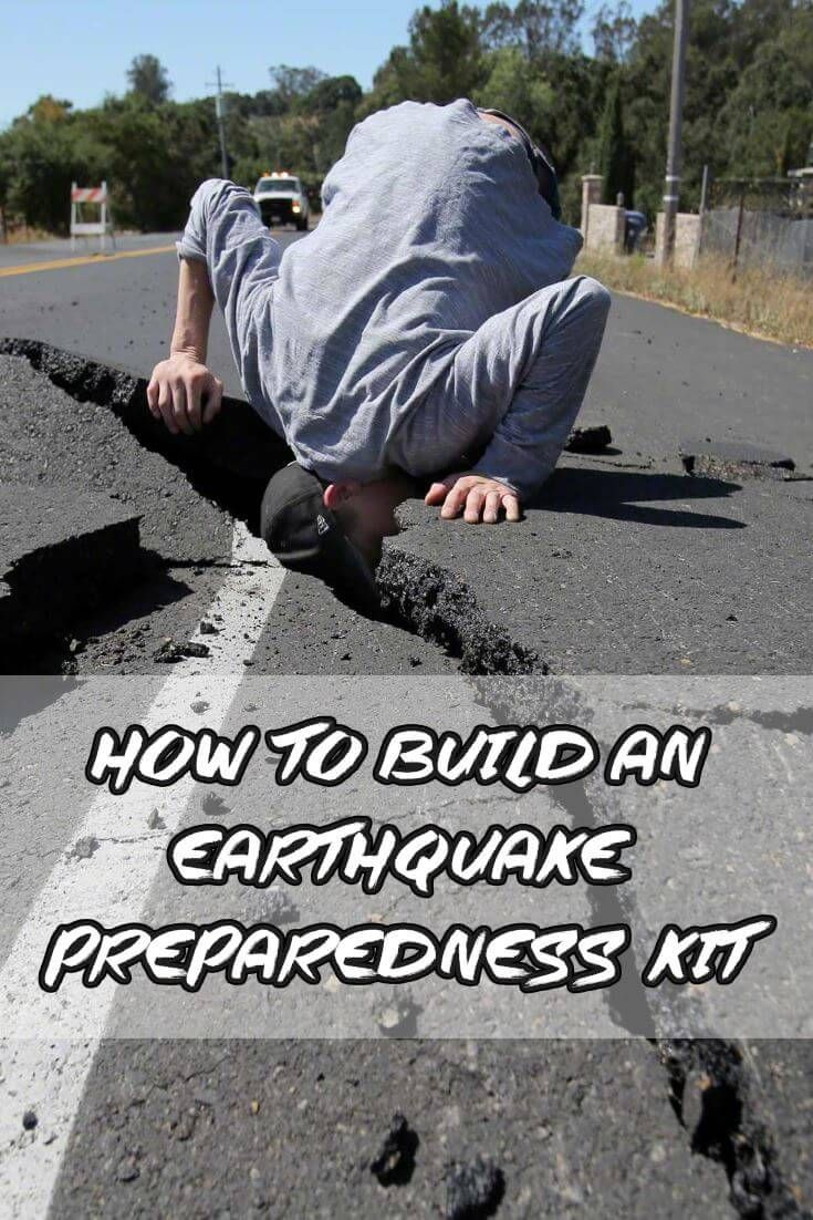 Use this earthquake kit list to build your own DIY earthquake survival kit. Make your own earthquake kit without spending a fortune on more gear