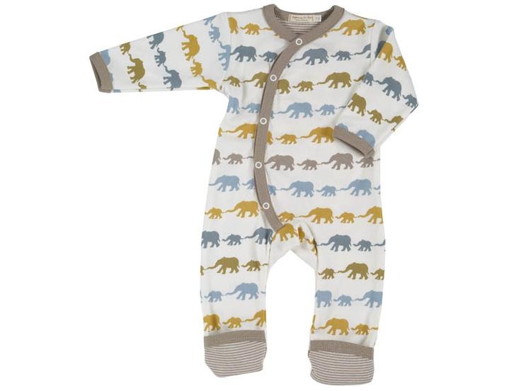 Retro Elephant Kimono Playsuit