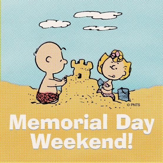 Happy Memorial Day weekend!