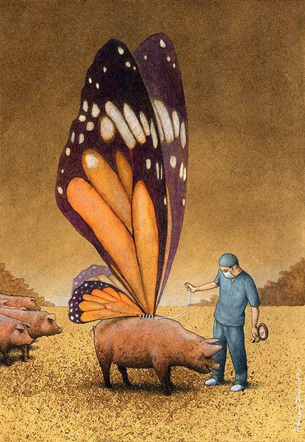 26 nouvelles Illustrations satiriques de Pawel Kuczynski (image)