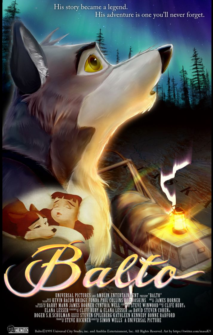 Balto 20th Anibersary by ABCsan on DeviantArt