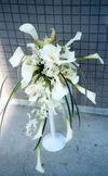 Calla Wedding Bouquet made by Kent Florist Mikiko Inoue