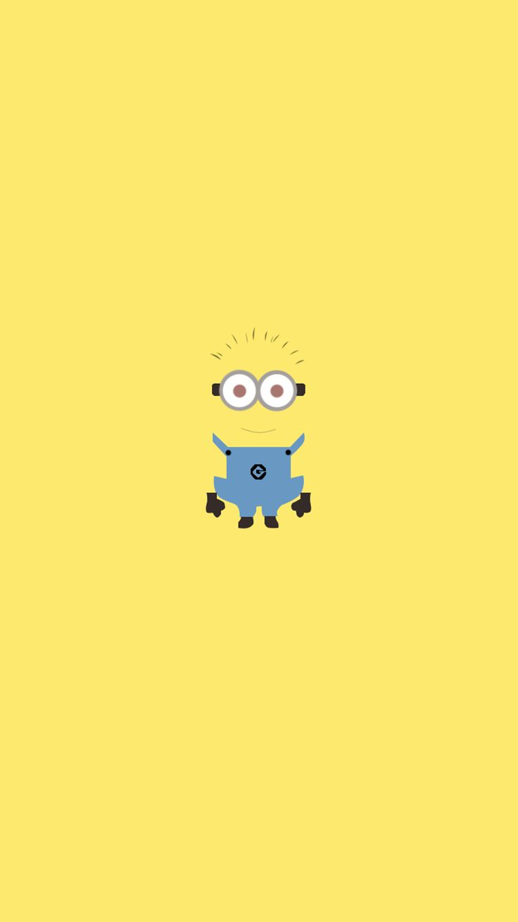 Tumblr iphone wallpaper minions - All Yellow Minion Iphone 6 Wallpaper From Despicable Me For 2014 Halloween